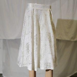 Sparkling Shiny Party Knee length skirt